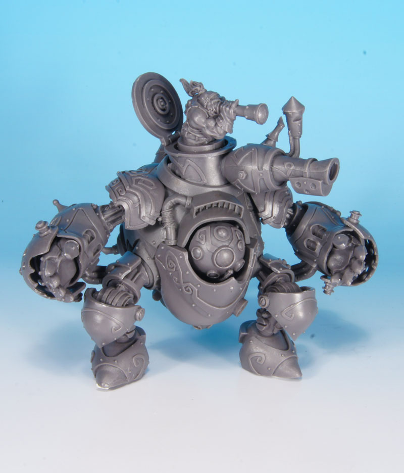 Confrontation - Dwarf Golem 1