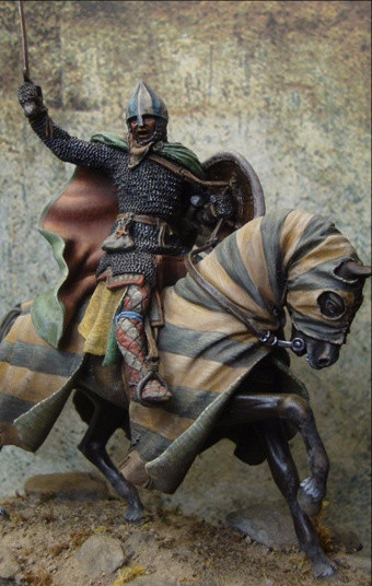 Mounted Knight, Late 12th Cent.