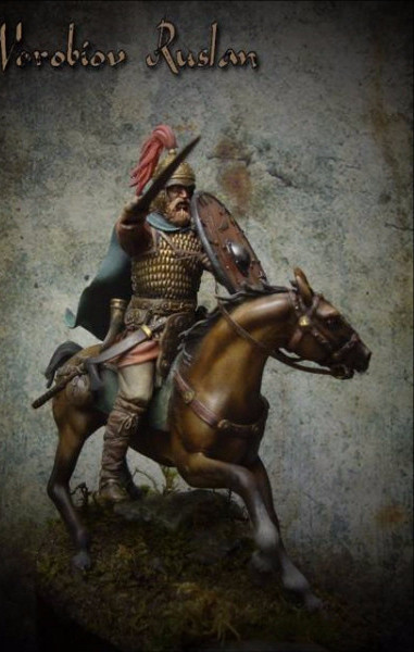 Mounted Germanic Warrior
