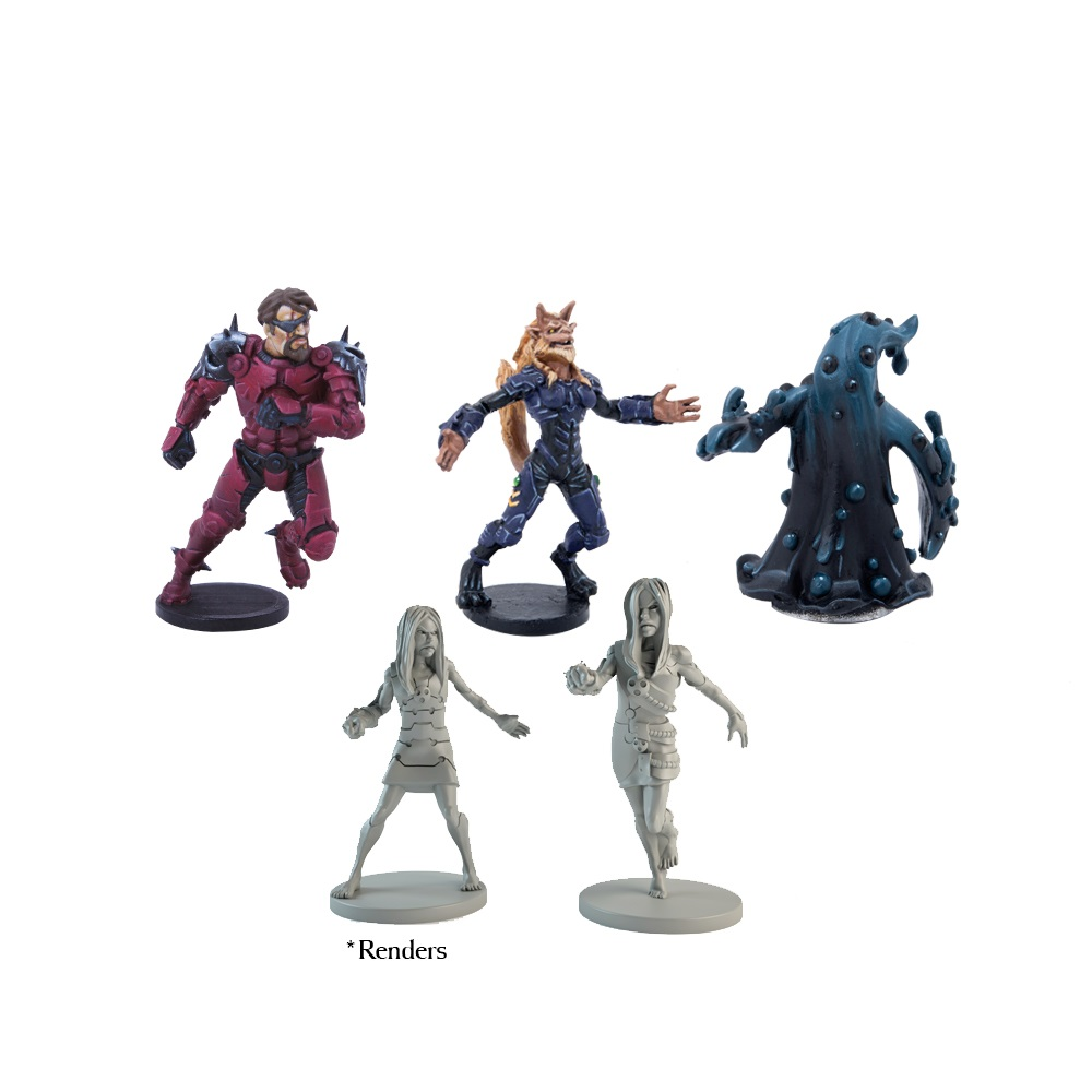 DreadBall Hazard System Heroes – All Star MVP pack