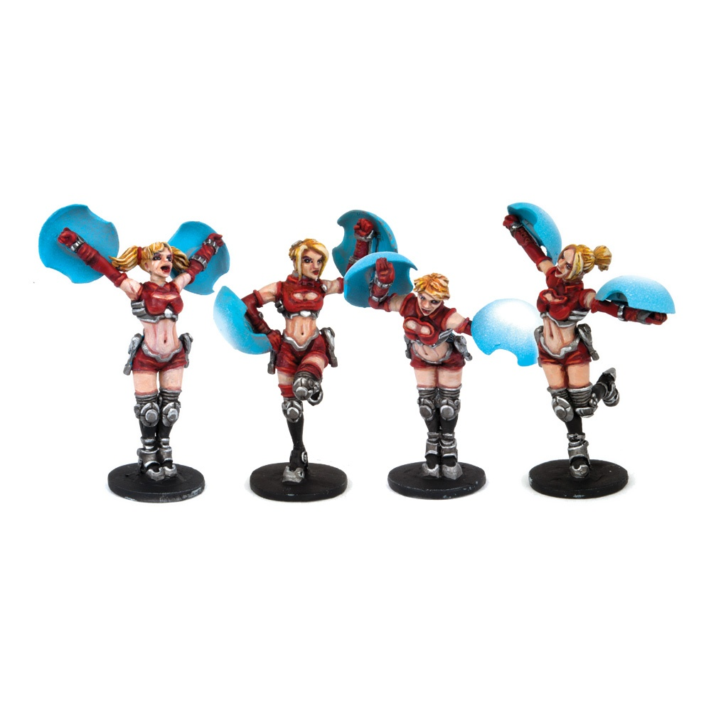DreadBall Cheerleaders