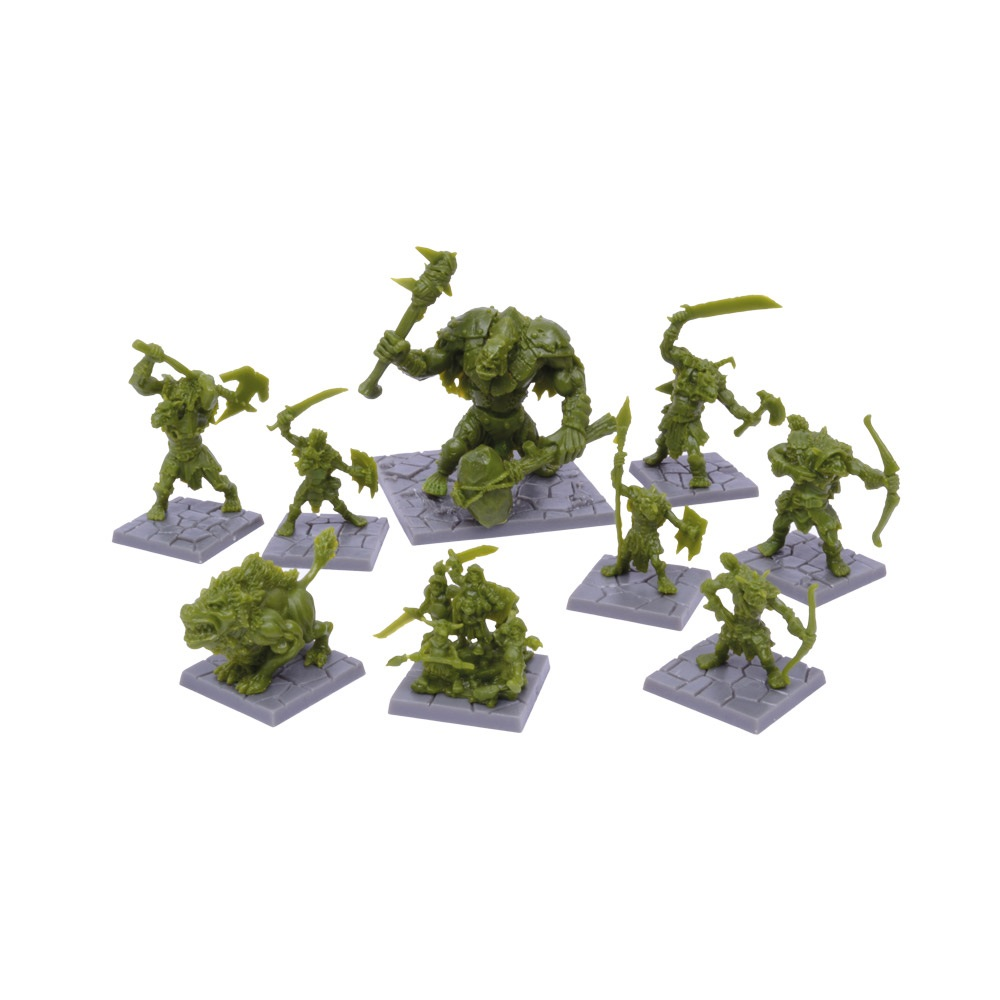 Green Rage Miniature Set