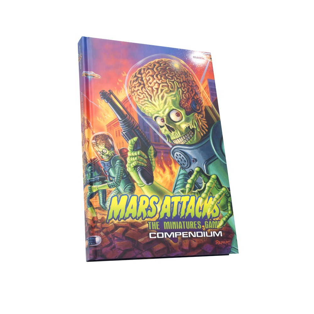 Limited Edition Mars Attacks Compendium