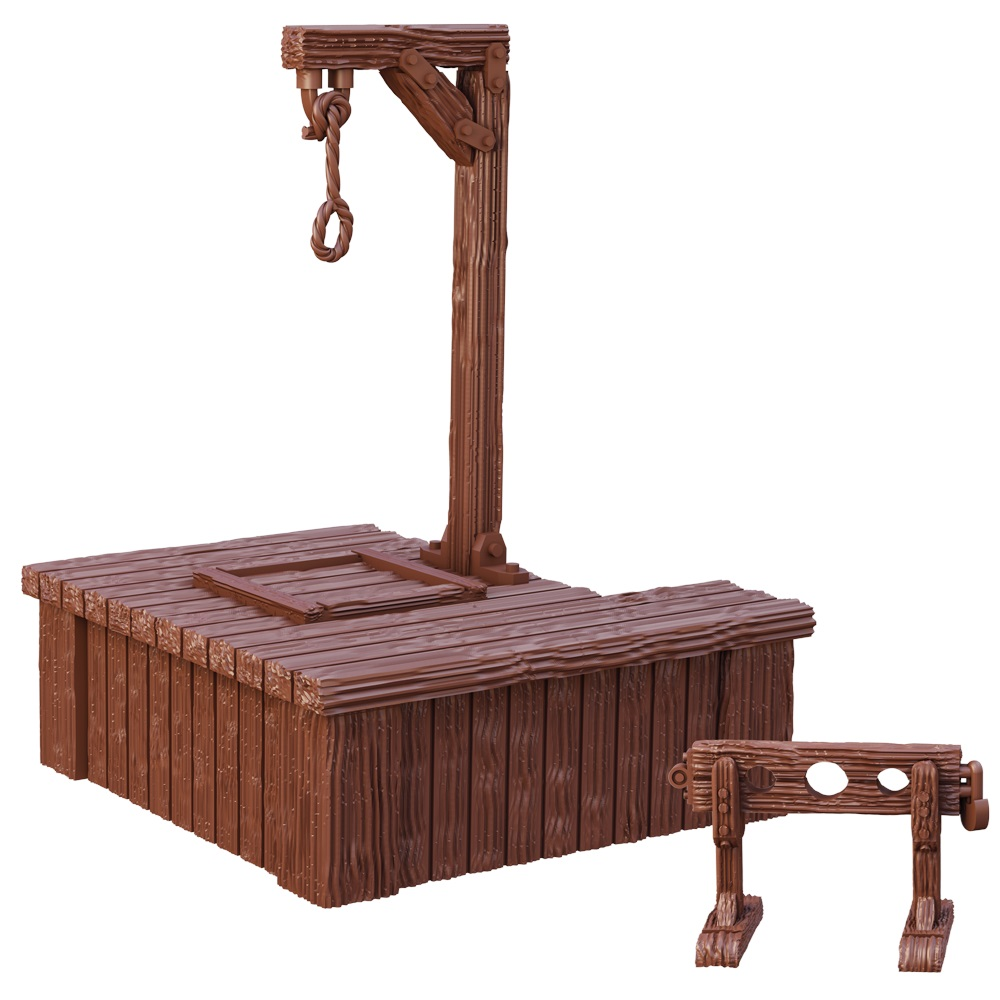 Gallows and Stocks