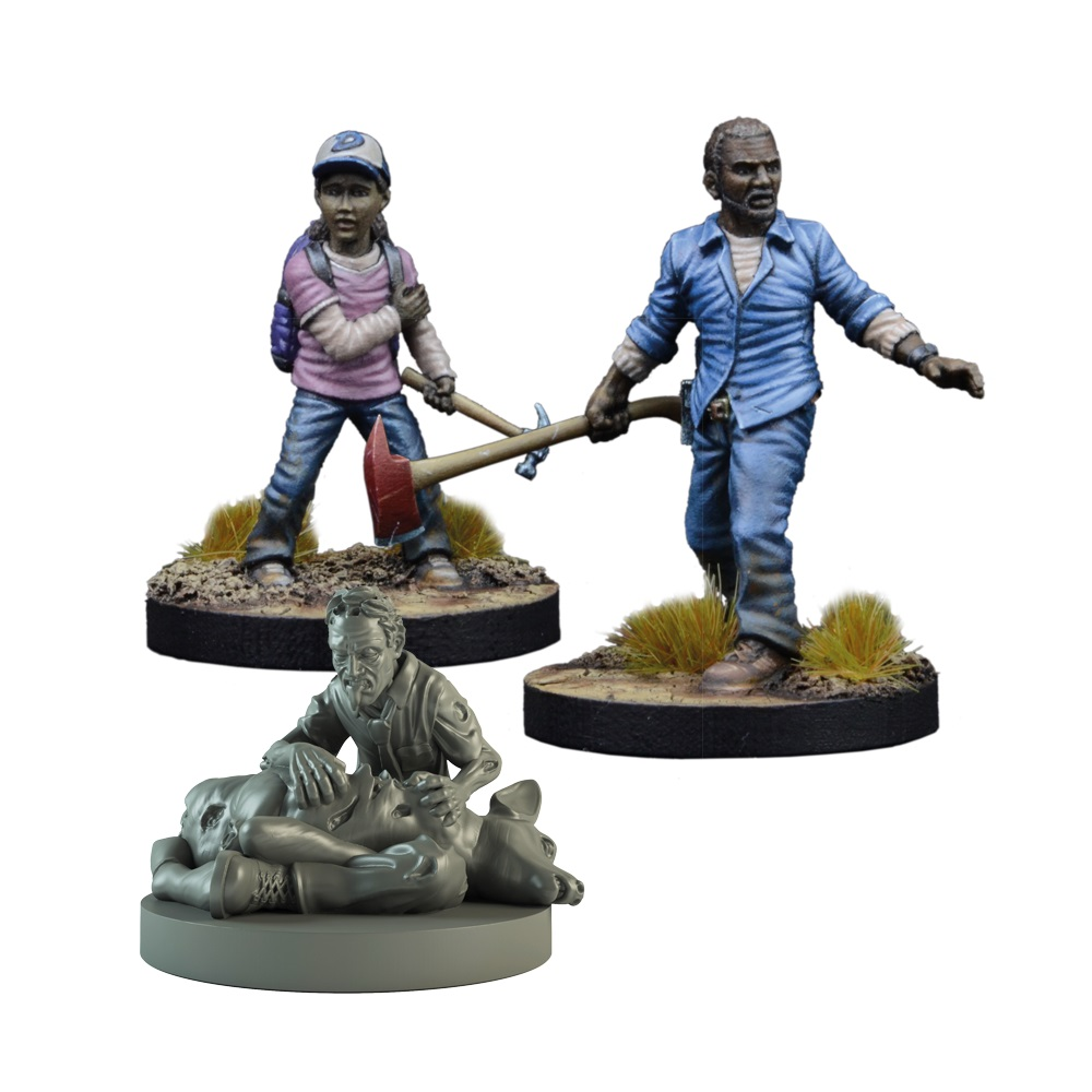 The Walking Dead: All Out War - Lee & Clementine Booster