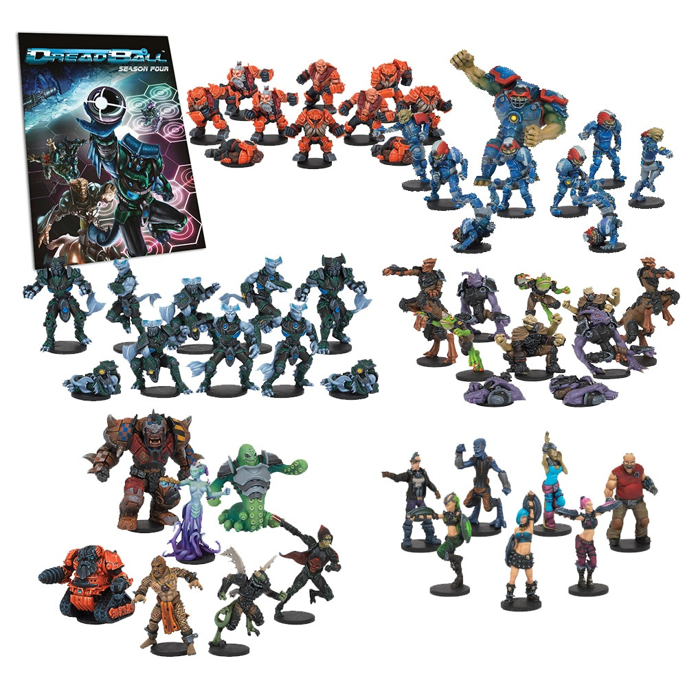 DreadBall Season Pass: Season 4 Complete Collection