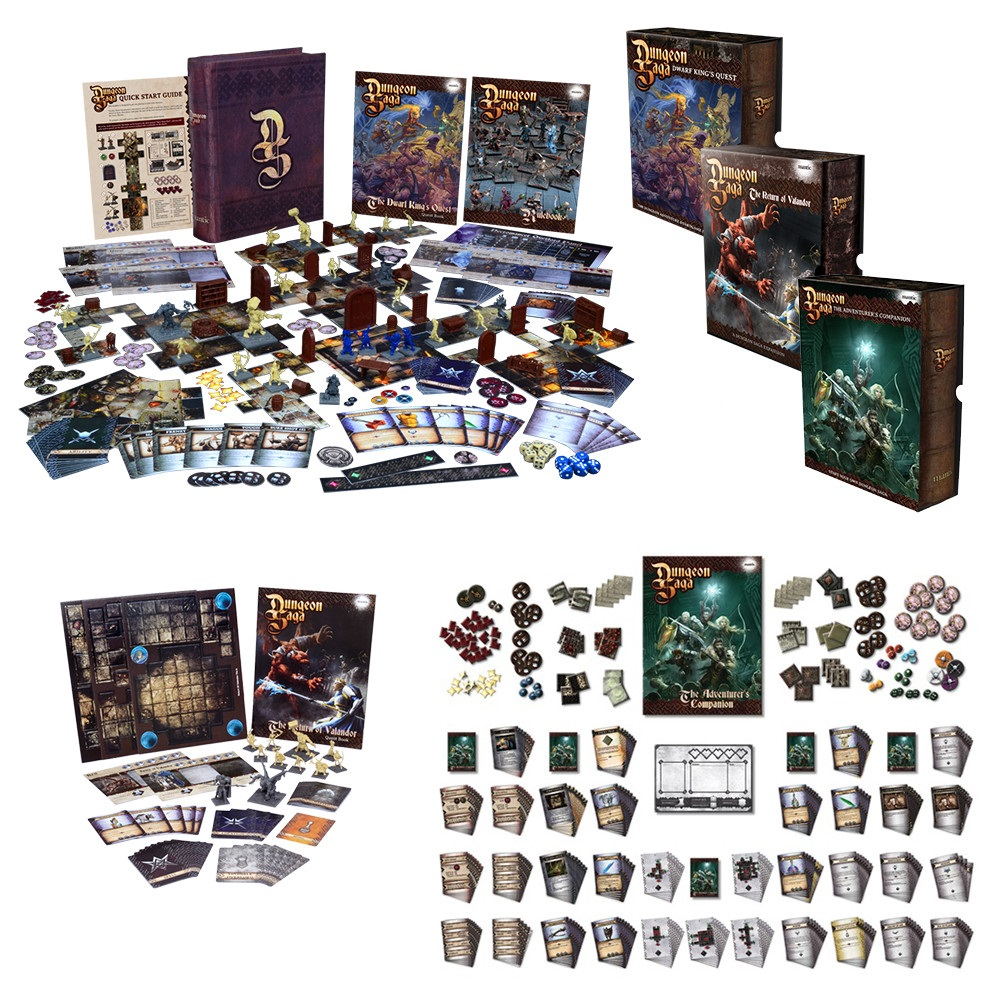 Dungeon Saga: Rise of the Demon Lord Legendary Bundle