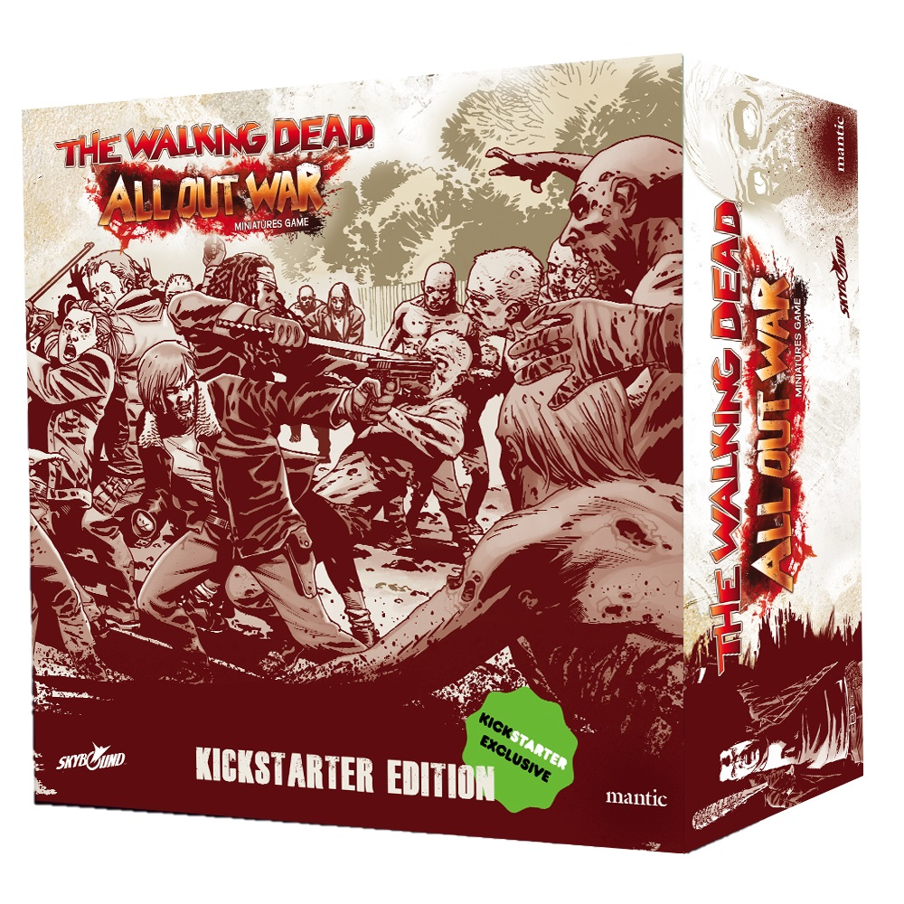The Walking Dead: All Out War Kickstarter Edition