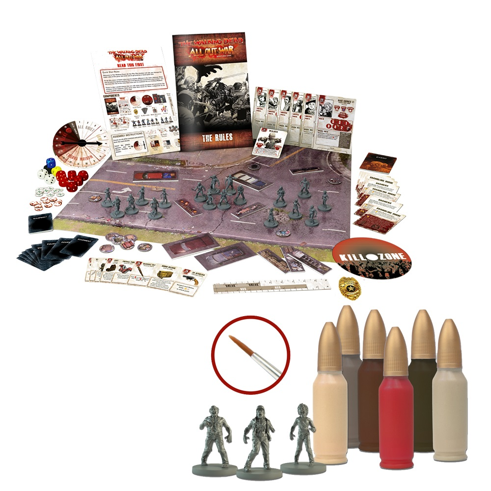 The Walking Dead: All Out War Core Set and Paint Set