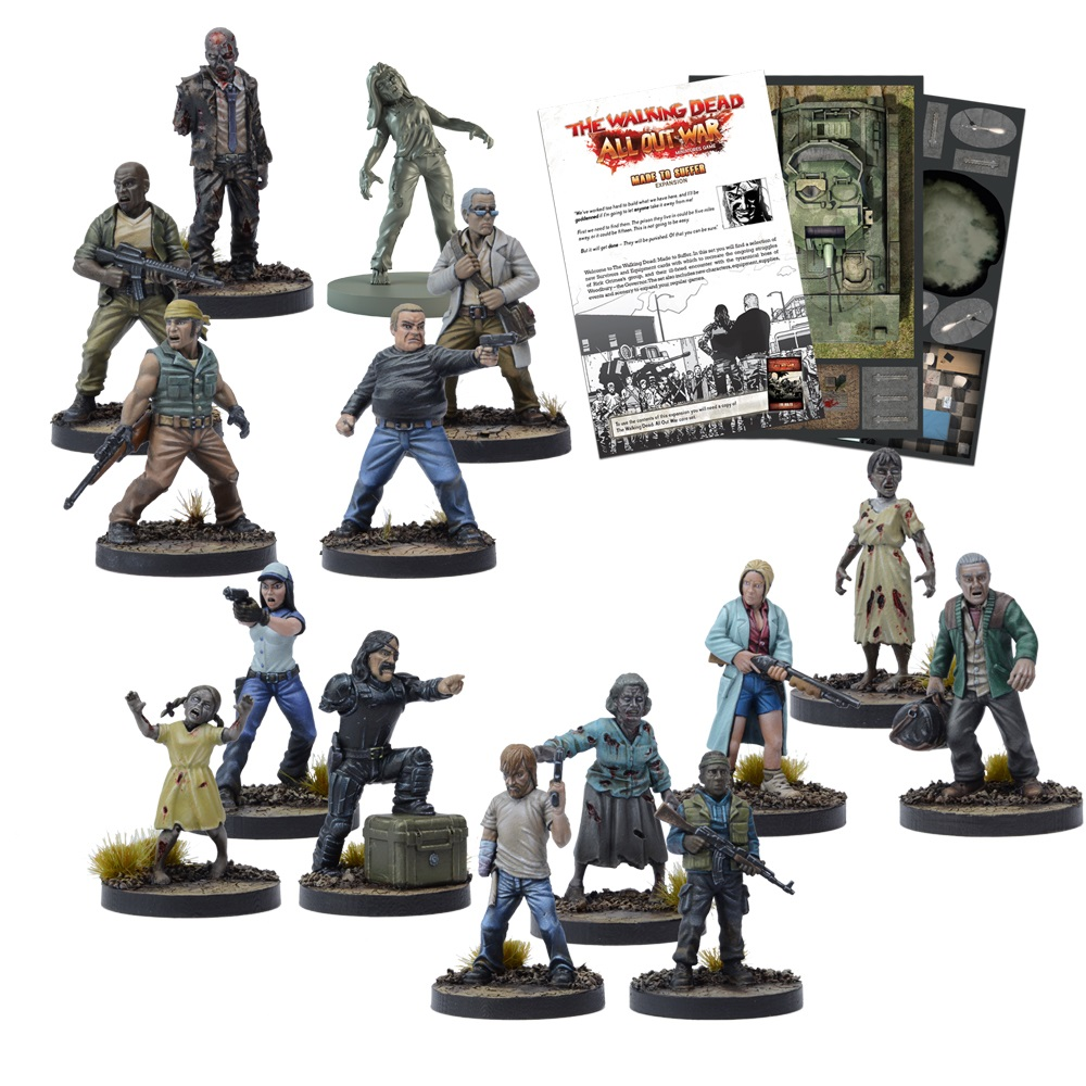 The Walking Dead: Made to Suffer Kickstarter Edition