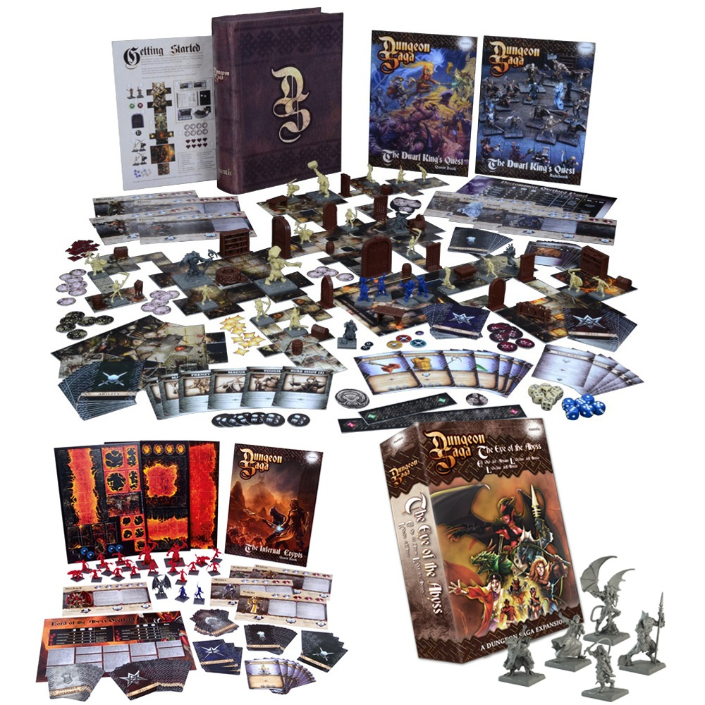 Dungeon Saga: Eye of the Abyss Bundle