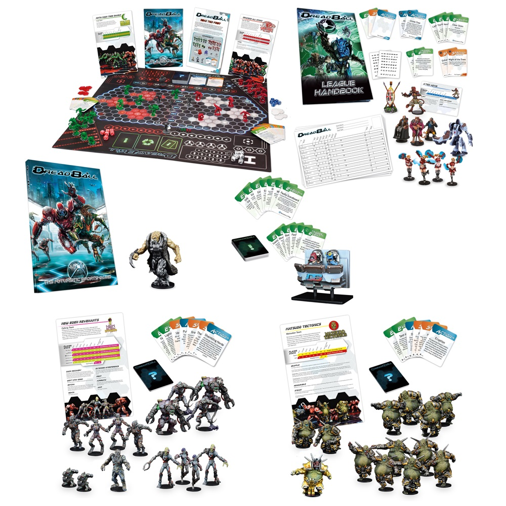 DreadBall 2 Launch Bundle