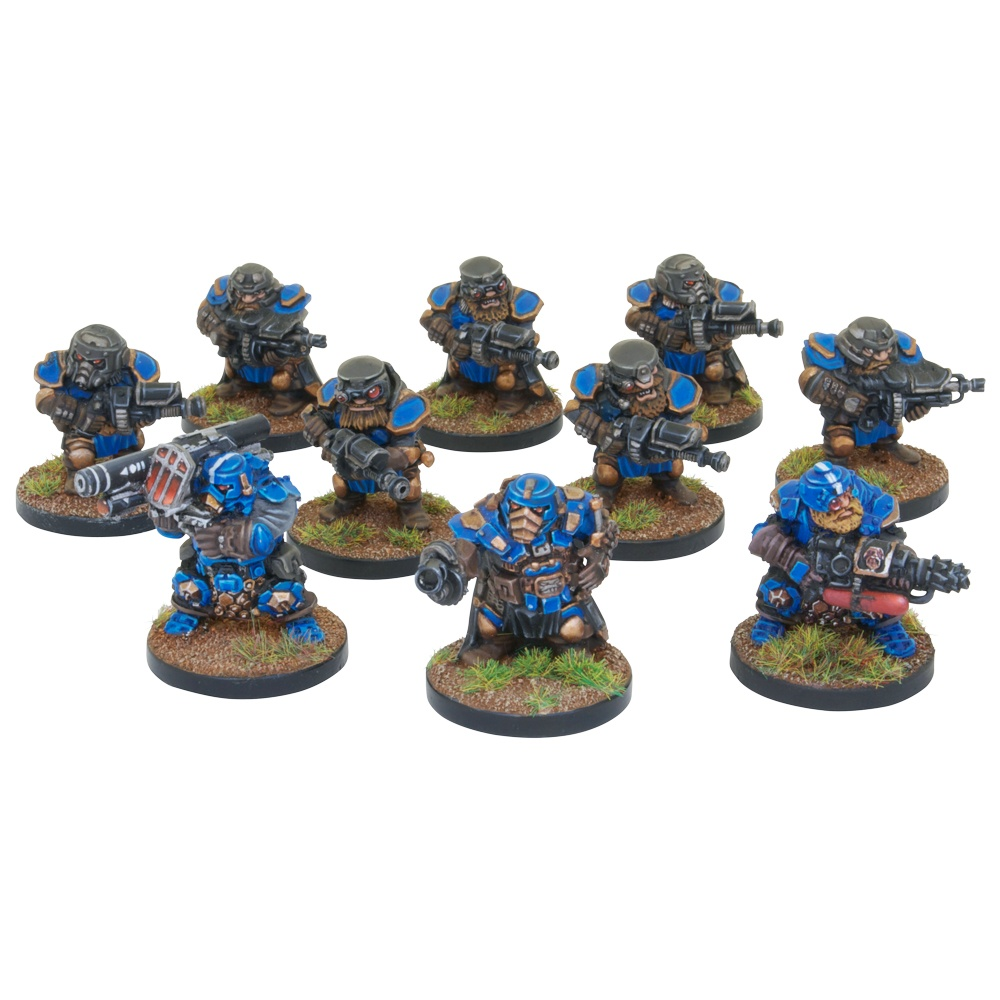 Forge Father Steel Warriors with Tactical Upgrade