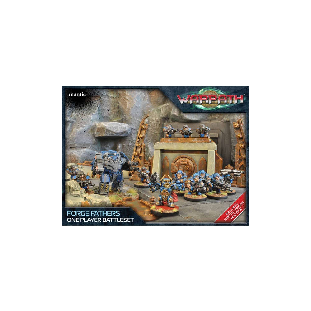 Forge Father One Player Battle Set (20 Figures and 1 Vehicle)
