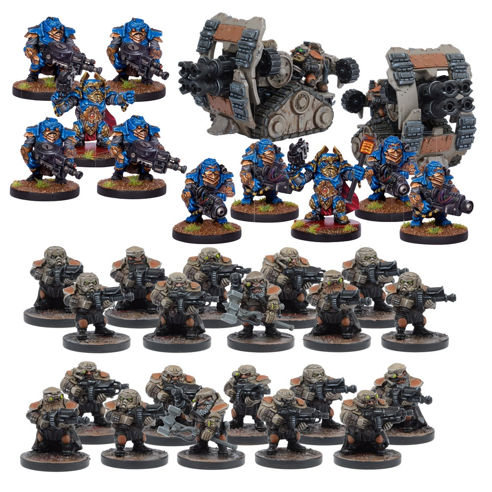 Forge Father Army Set
