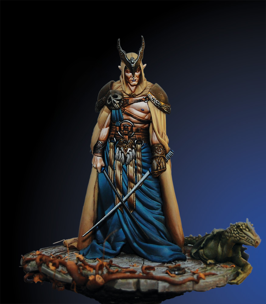 90mm Elf Dragon Prince