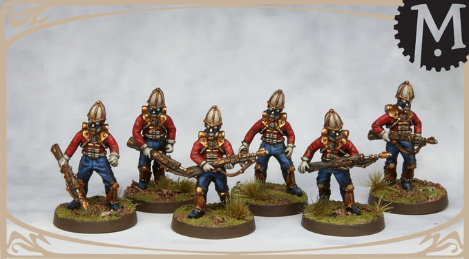 British Infantry Skirmisher