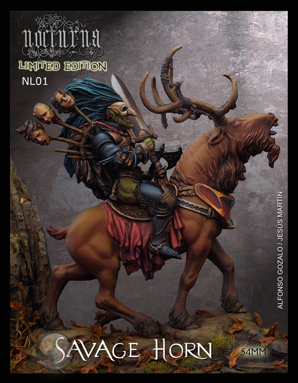Savage Horn  (54mm) (Limited Edition)