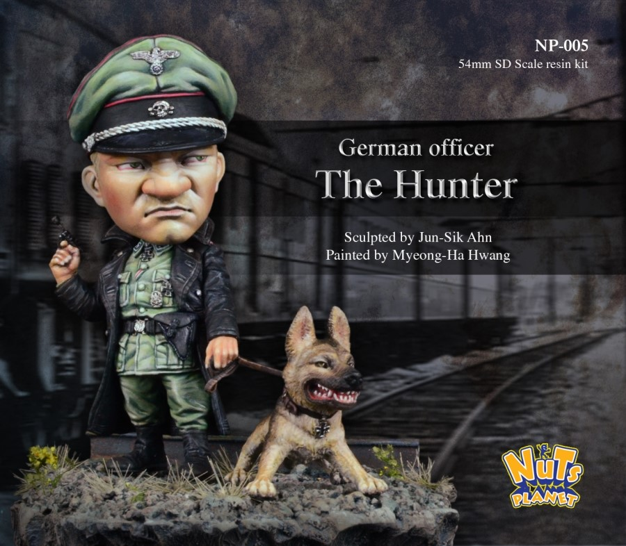 German Officer, The Hunter