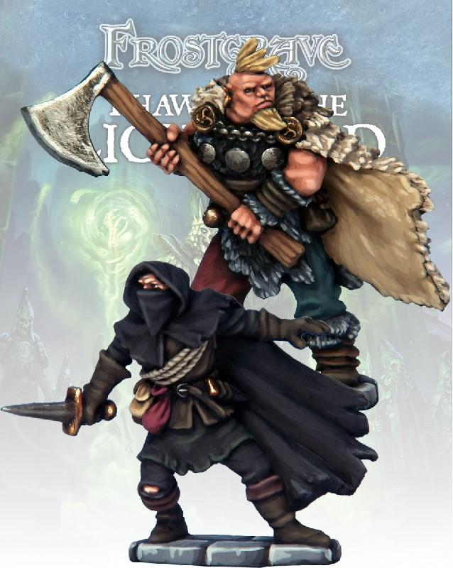 Cultist Thief & Barbarian