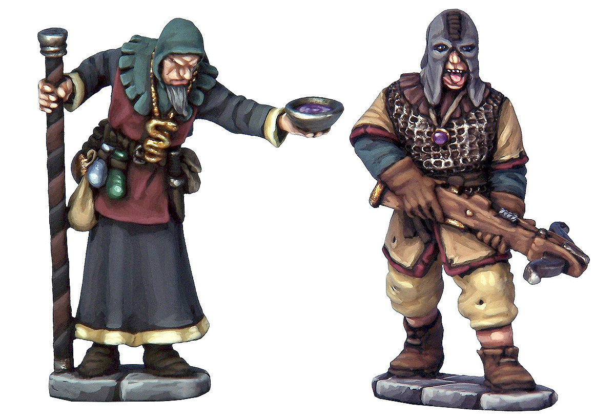 Cultist Apothecary & Marksman