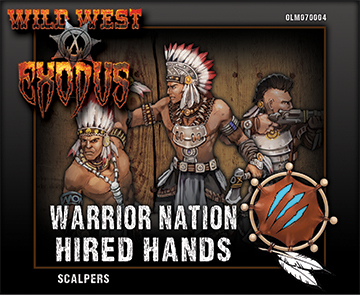 Warrior Nation - Scalpers Box (Hired Hands)