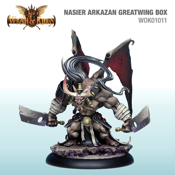 NASIER- ARKIZAN GREATWING BOX