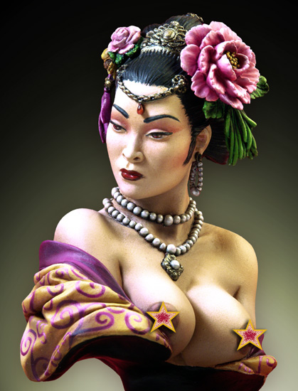 Chinese Lady (bust)