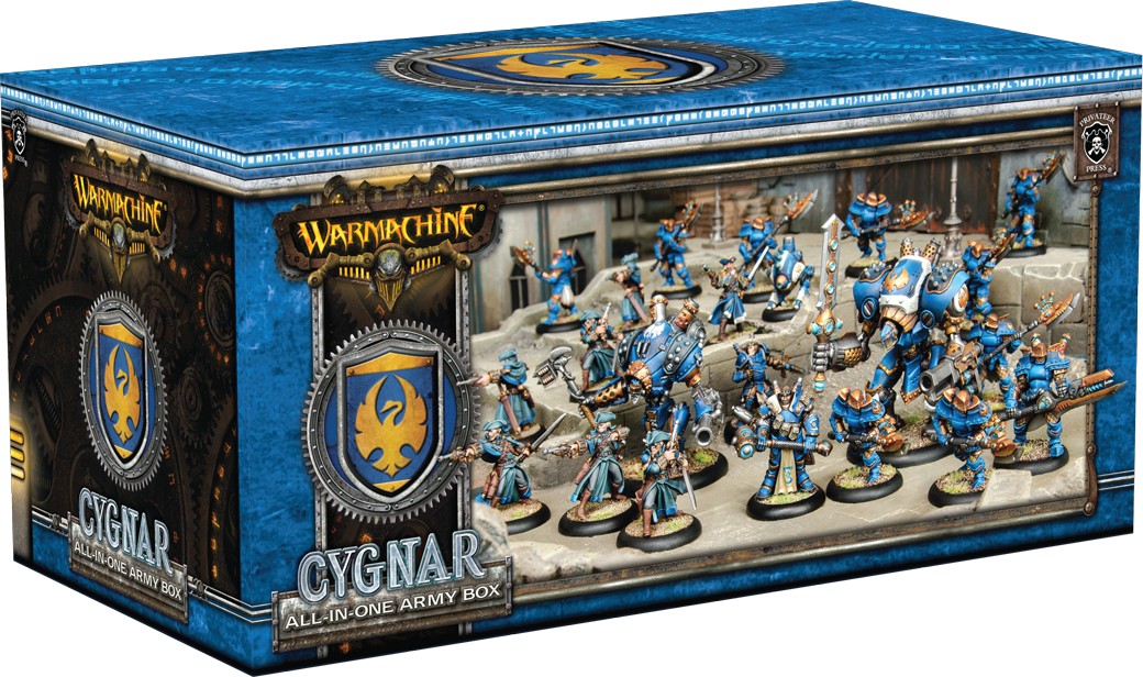 WARMACHINE: All-in-One Army Box—Cygnar