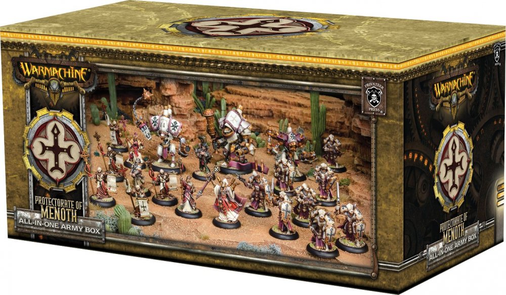 WARMACHINE: All-in-One Army Box—Protectorate of Menoth