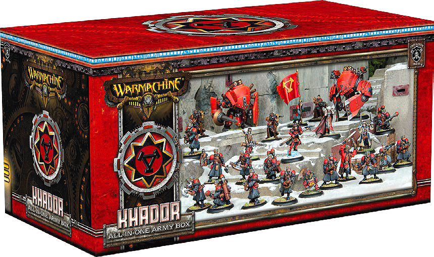 WARMACHINE: All-in-One Army Box—Khador