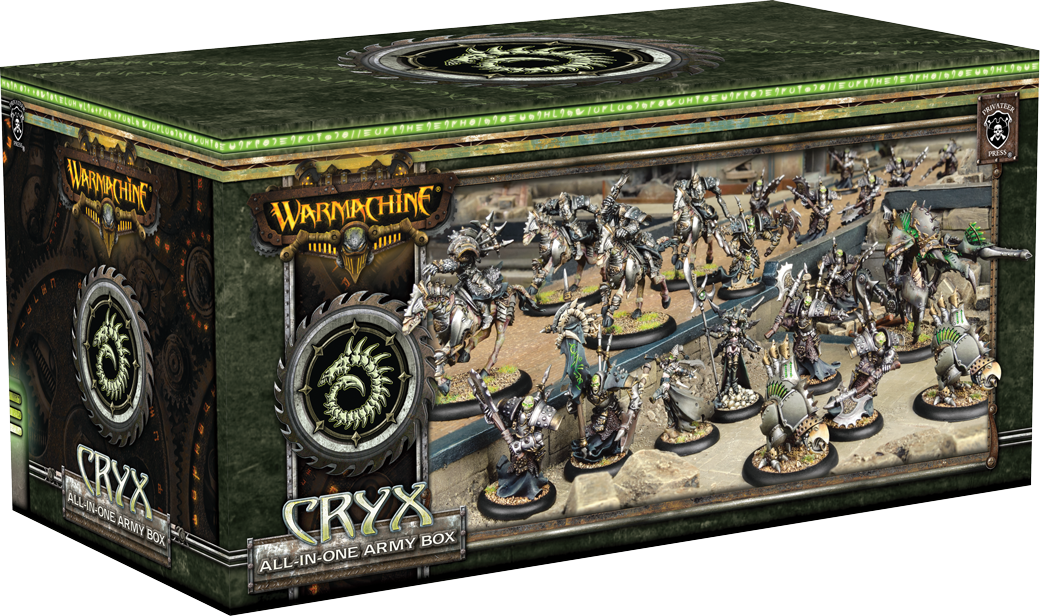WARMACHINE: All-in-One Army Box—Cryx
