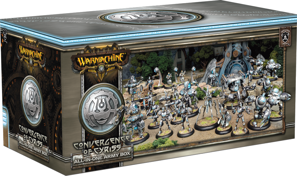 WARMACHINE All-in-One Army Box—Convergence of Cyriss