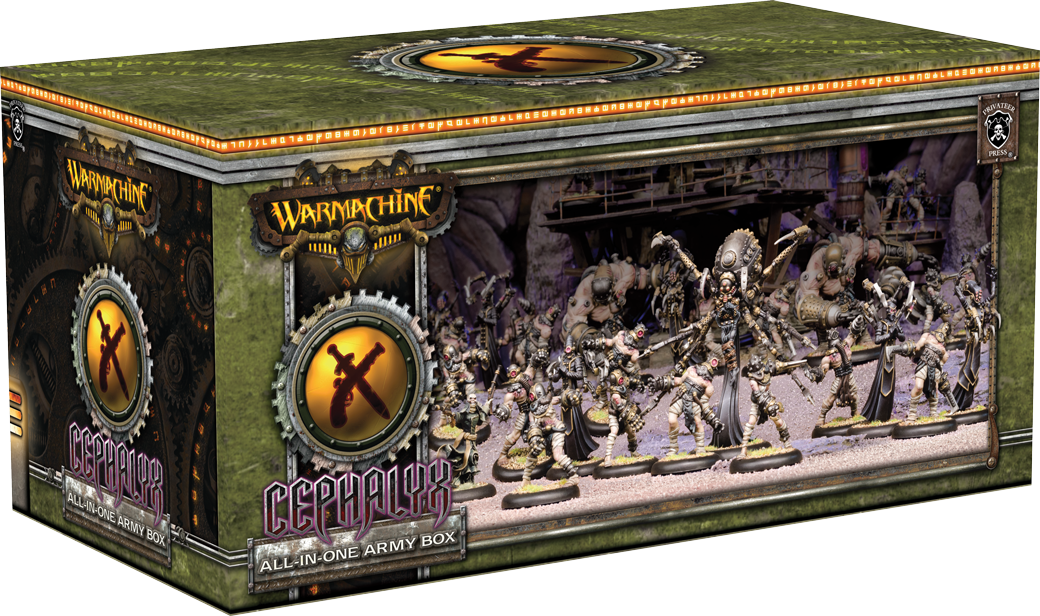 WARMACHINE All-in-One Army Box—Cephalyx