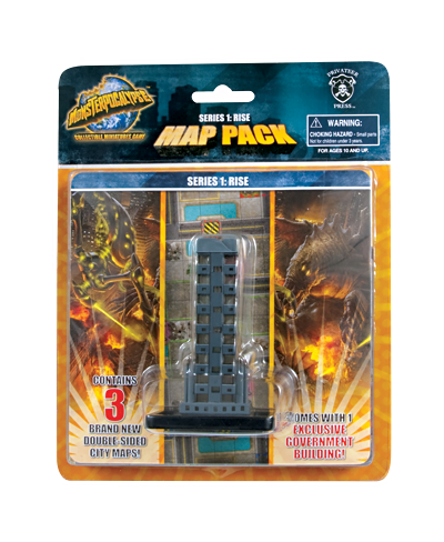 Monsterpocalypse: Rise Map Pack