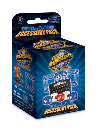 Monsterpocalypse Accessory Pack (Blue)