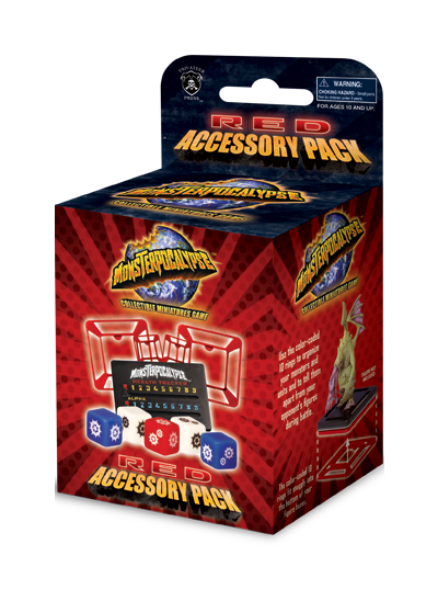 Monsterpocalypse Accessory Pack (Red)