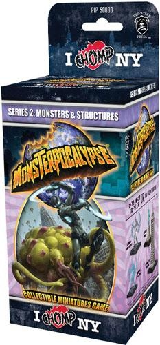 Monsterpocalypse: I Chomp NY Monster / Structure Booster
