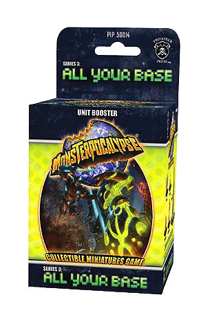 Monsterpocalypse Series 3: All Your Base Monster Boo ster