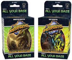 Monsterpocalypse All Your Base Launch Kit