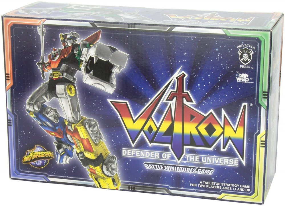 Voltron: Defender of the Universe