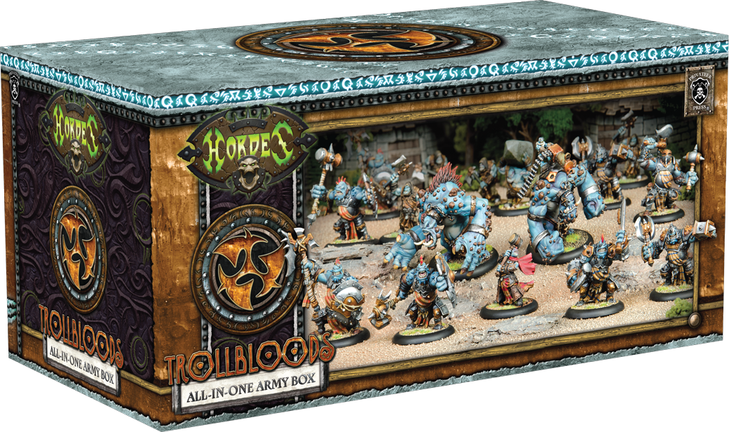 HORDES: All-in-One Army Box—Trollbloods
