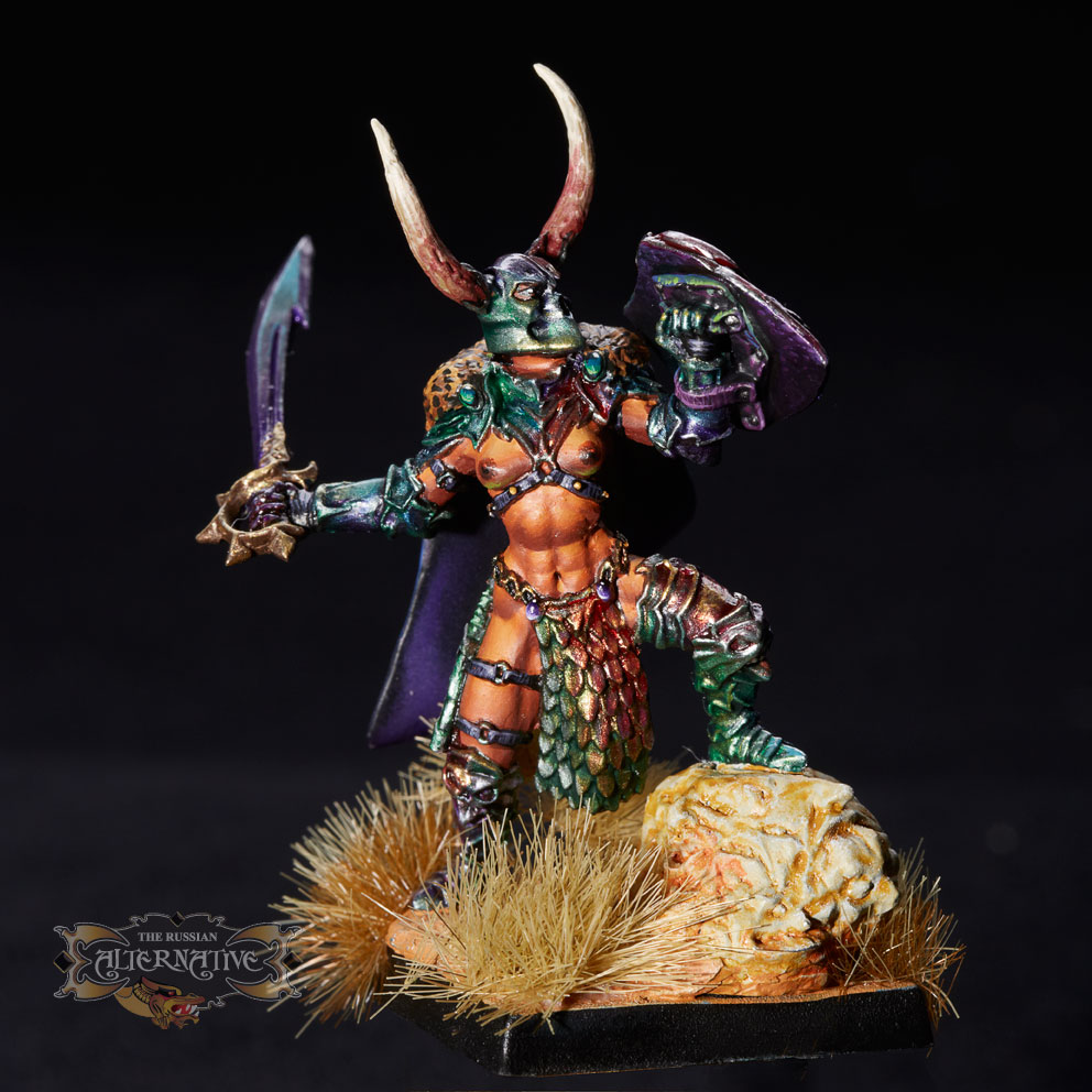 The Female Barbarian Lord