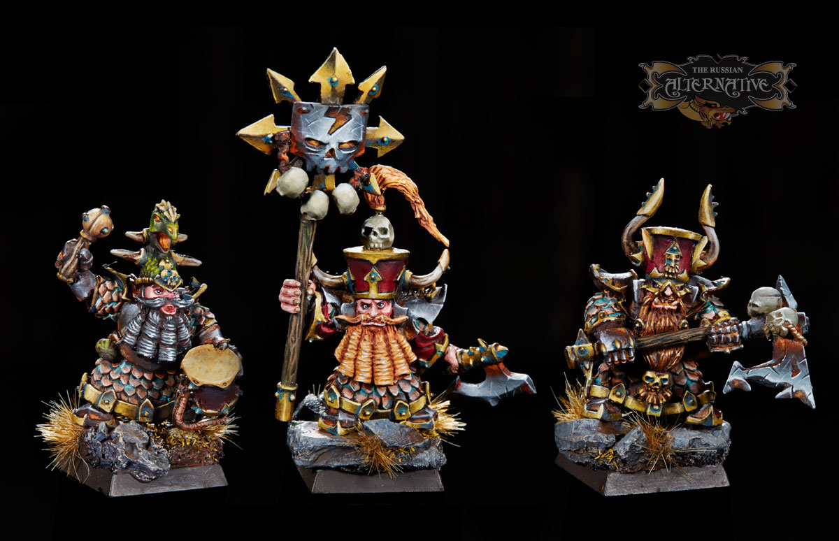 The Dwarves of Fire Canyon Command Group