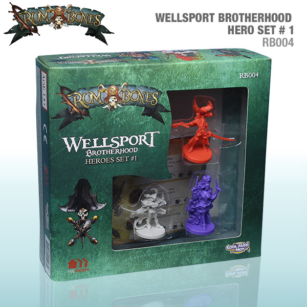 Rum & Bones: Wellsport Brotherhood Heroes Set #1