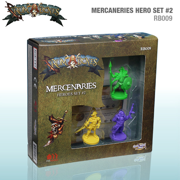 Rum & Bones: Mercenary Heroes Set #2