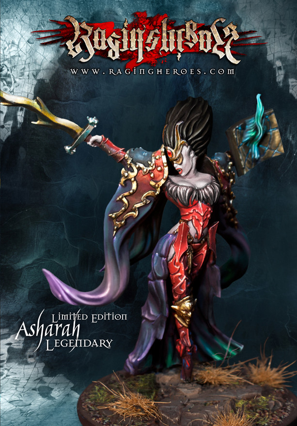Asharah Legendary (54mm) - Limited Edition 54 mm