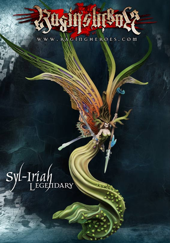 Syl-Iriah, Spirit of the Woods - Legendary version 28mm Legendary