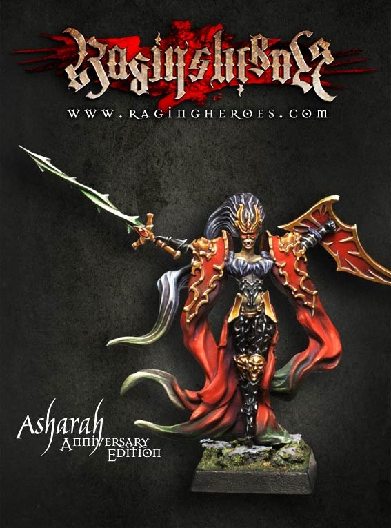 Asharah Heroic (28mm) - Anniversary Edition 28mm Heroic