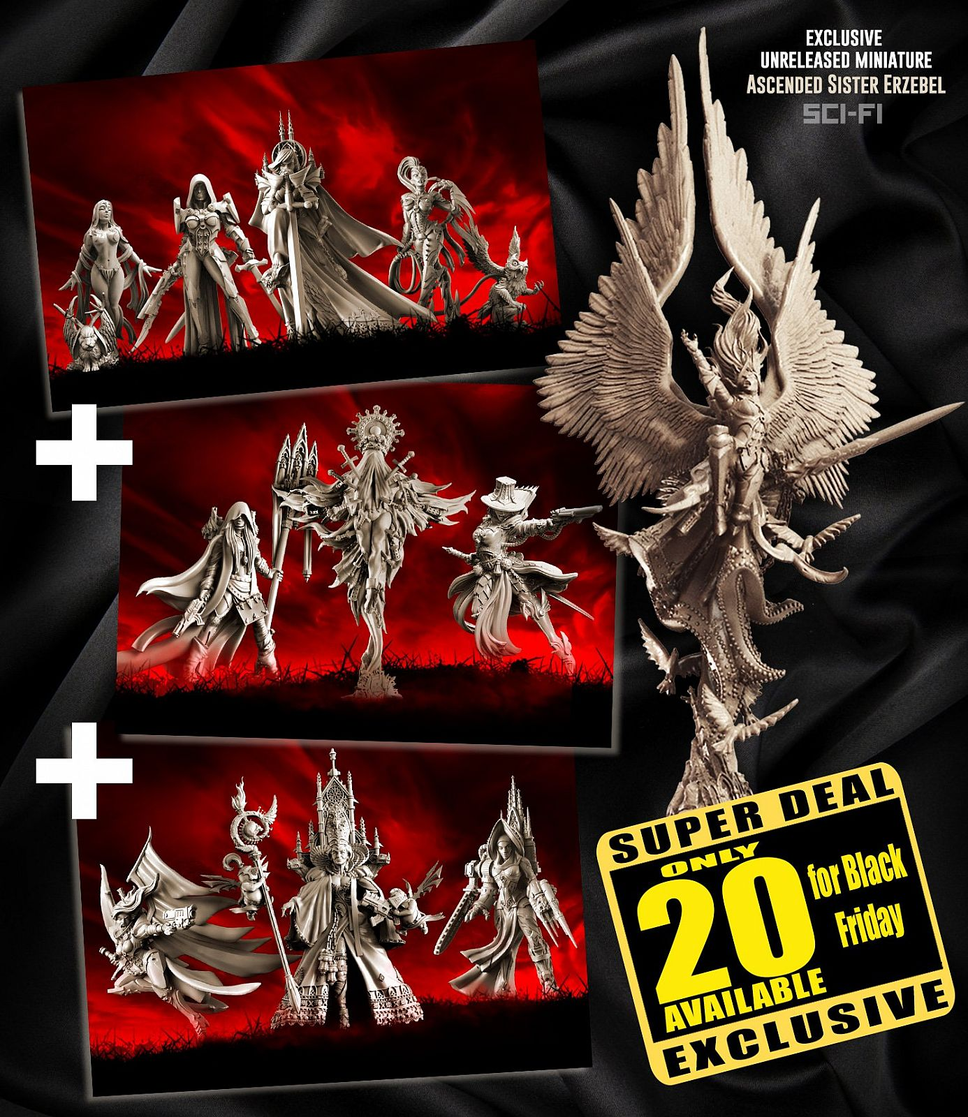 EXCLUSIVE Sisters SF multipack with Erzebel